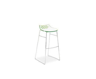 Plastové barové židle