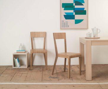 Dřevěné jídelní židle