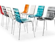 "Židle plastová ""L'EAU"""