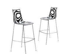 "Barová židle ""SGABELLO WAVE"""