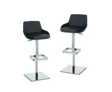 Kovové barové židle