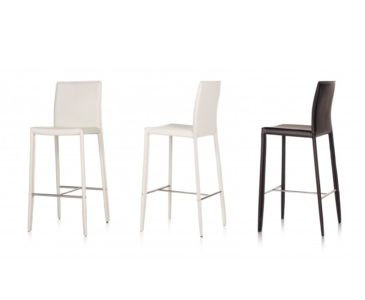 Kožené barové židle
