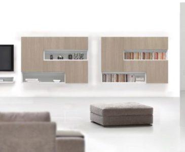 Obývací stěny