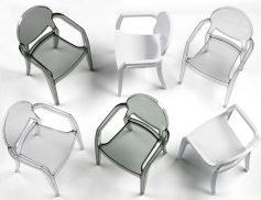 """Židle celoplast. područky """"IGLOO"""""""