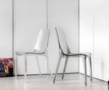 Plastové jídelní židle