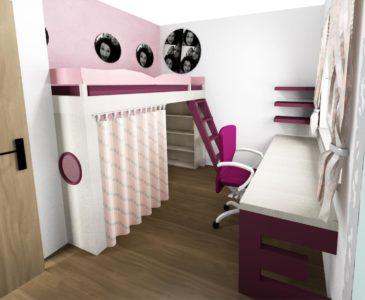 Návrhy dětských pokojů