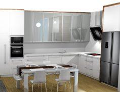 Obývací pokoj a kuchyň Praha