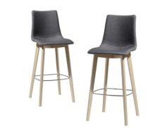 "Barová židle ""SGABELLO NATURAL ZEBRA POP"""
